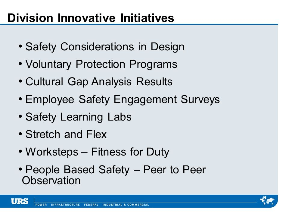 Division Innovative Initiatives