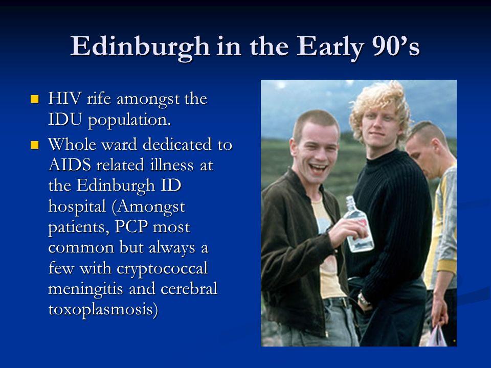 Edinburgh in the Early 90's