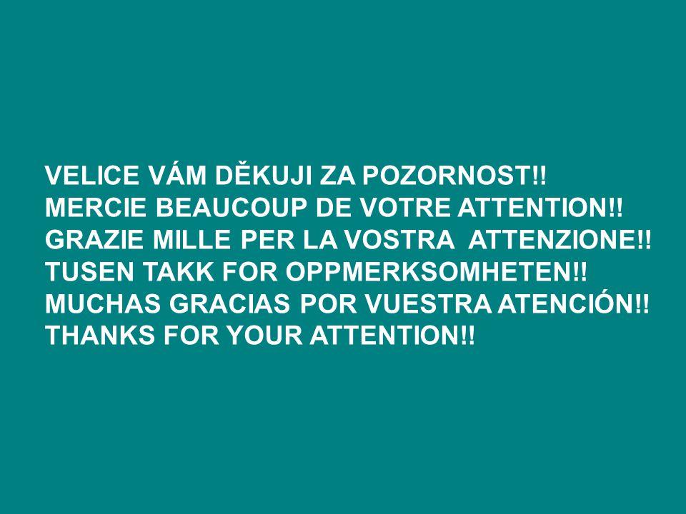 Velice vám děkuji za pozornost!!