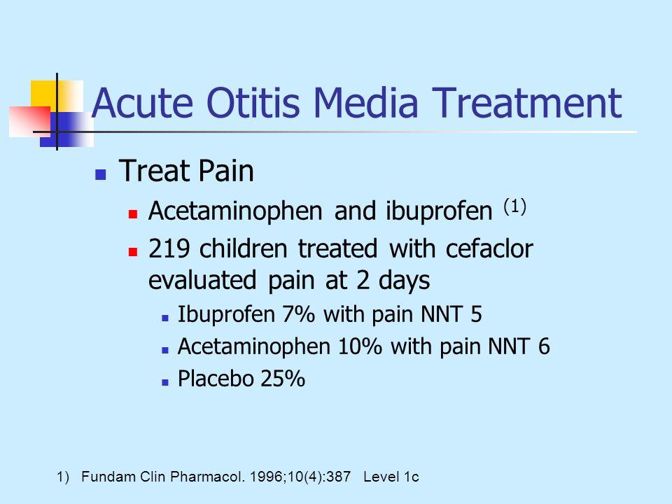 Acute Otitis Media Treatment