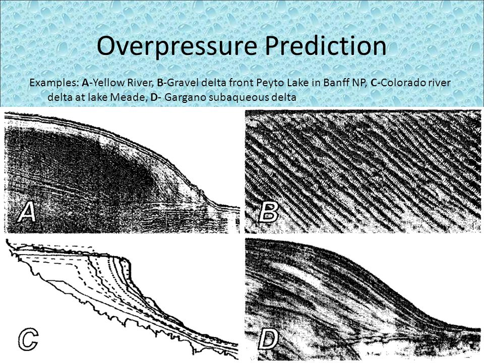 Overpressure Prediction