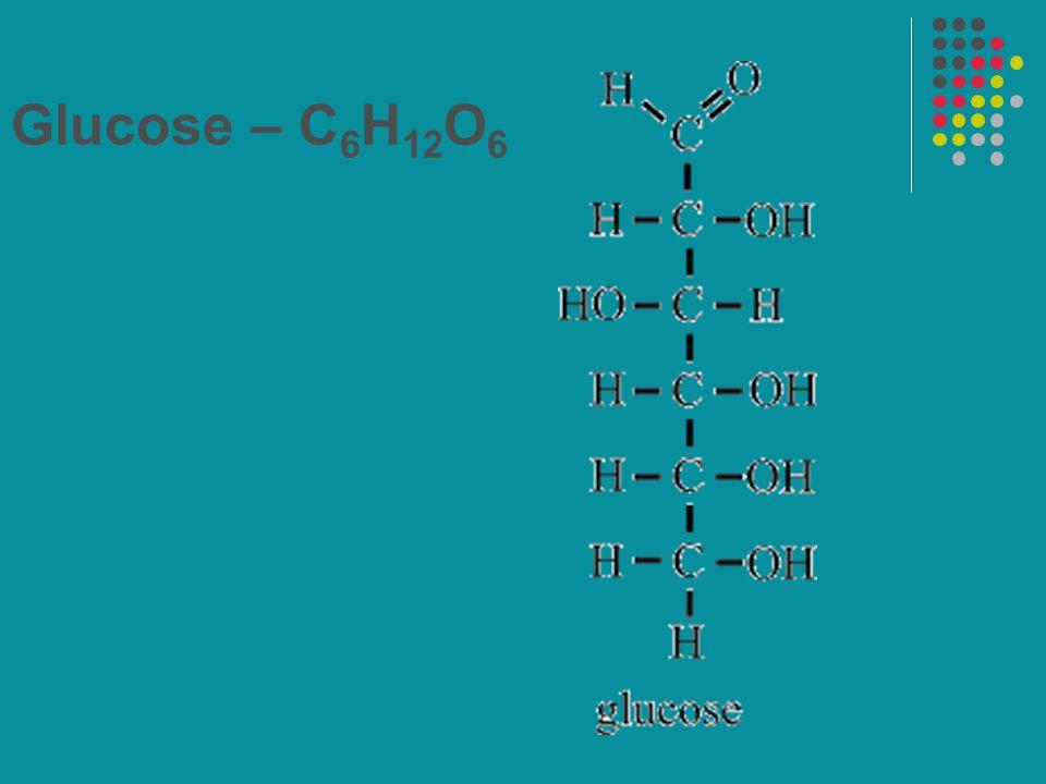 Glucose – C6H12O6