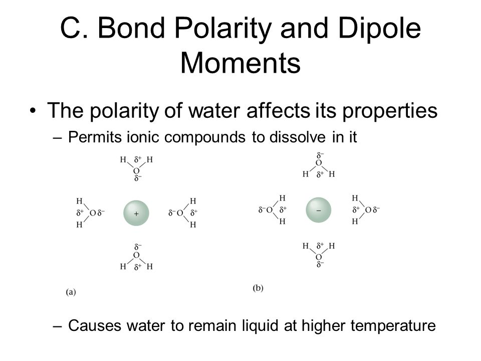 C. Bond Polarity and Dipole Moments