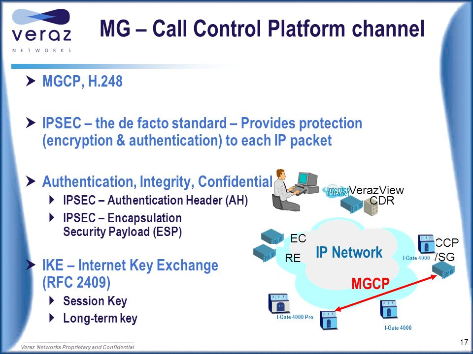 MG – Call Control Platform channel