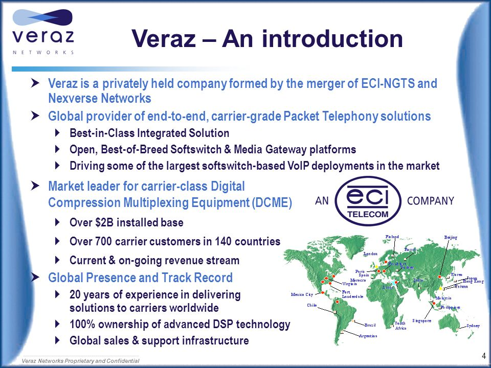 Veraz – An introduction
