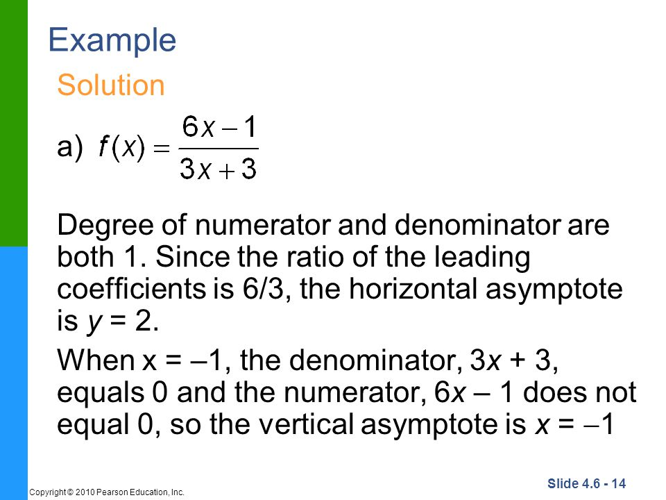 Example Solution. a)