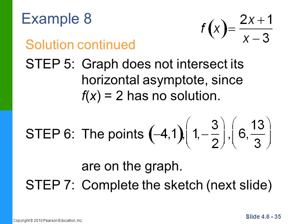 Example 8 Solution continued