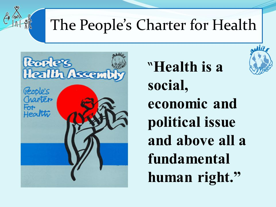 The People's Charter for Health