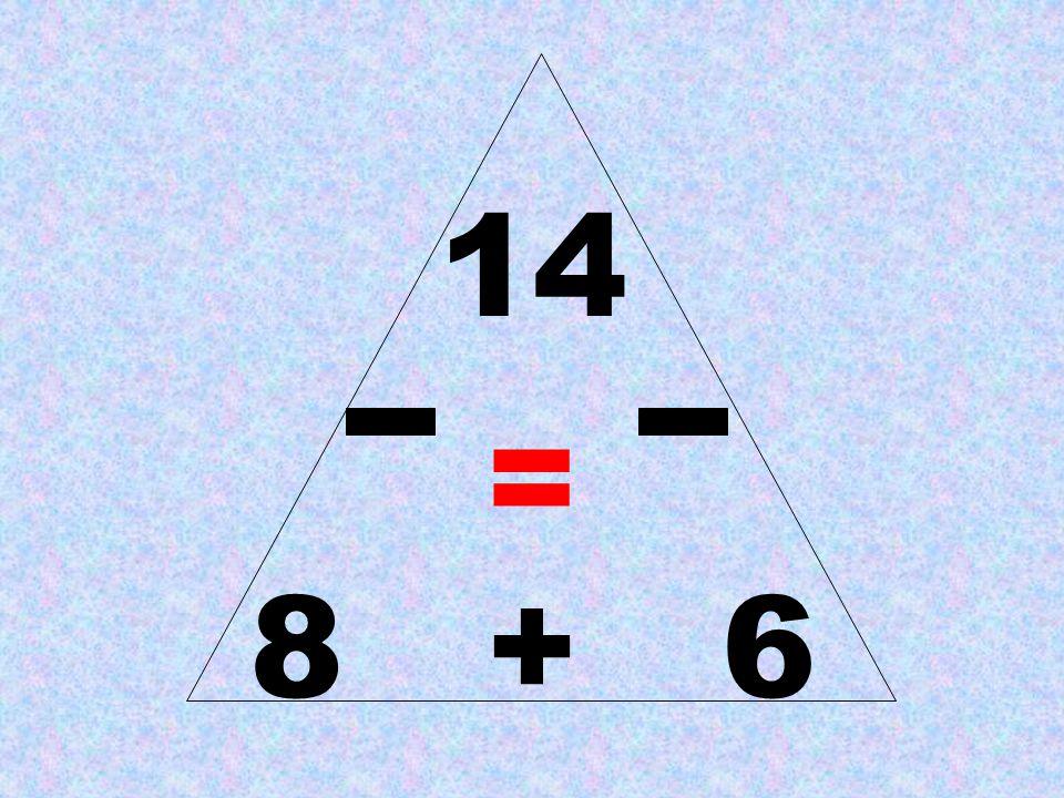 14 = 8 + 6