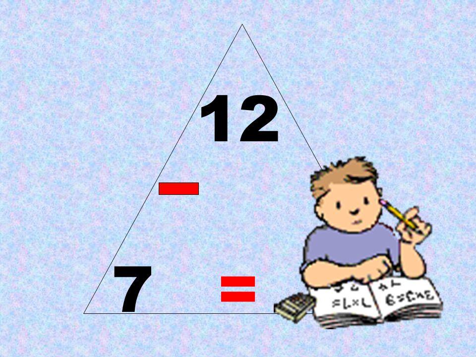 12 7 = 5