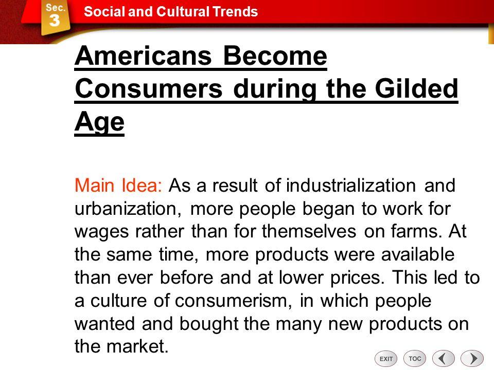 Sec 3: Social and Cultural Trends