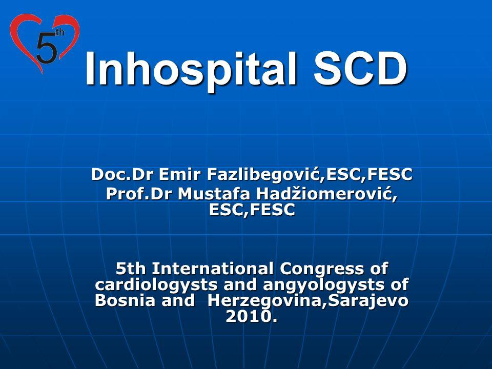 Inhospital SCD Doc.Dr Emir Fazlibegović,ESC,FESC