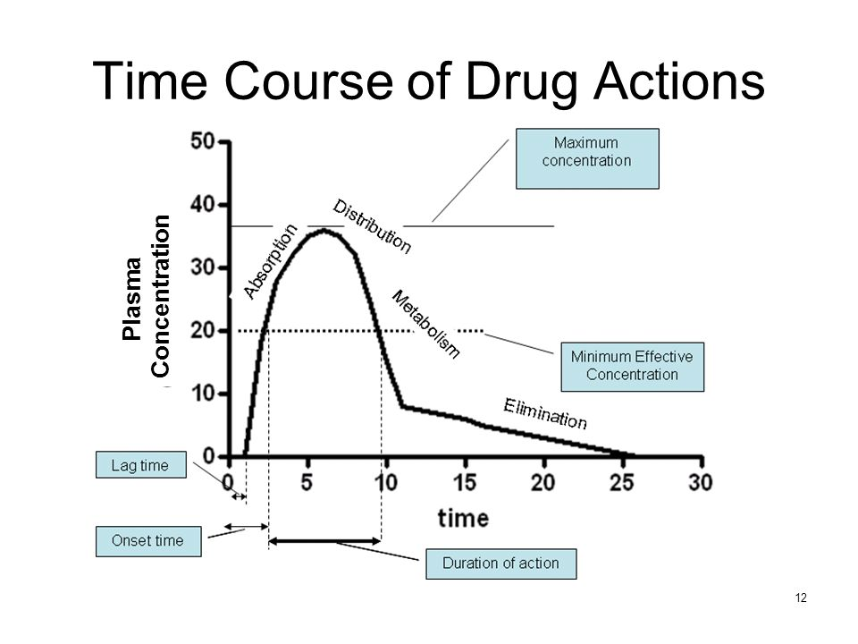 Time Course of Drug Actions