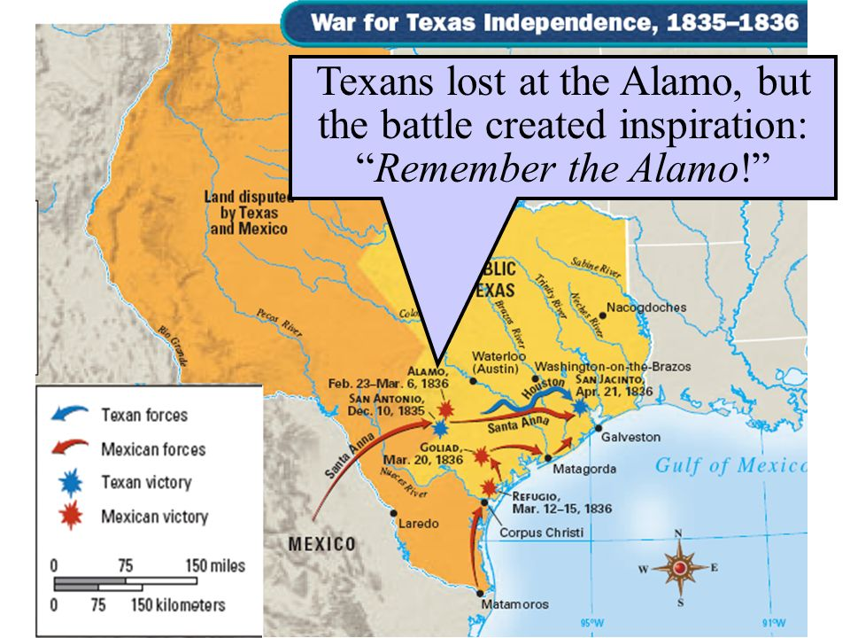 Texans lost at the Alamo, but the battle created inspiration: Remember the Alamo!