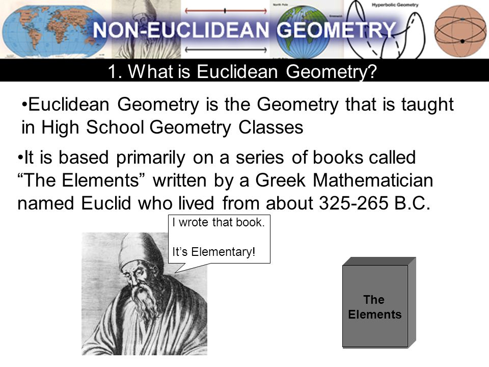 1. What is Euclidean Geometry