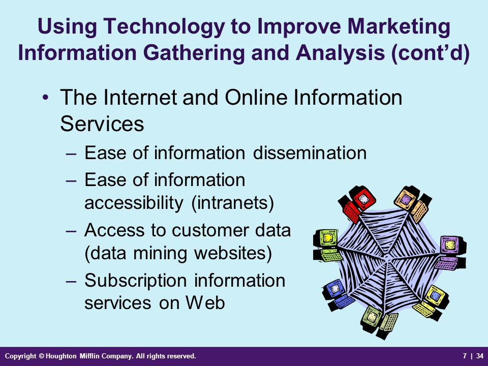 The Internet and Online Information Services
