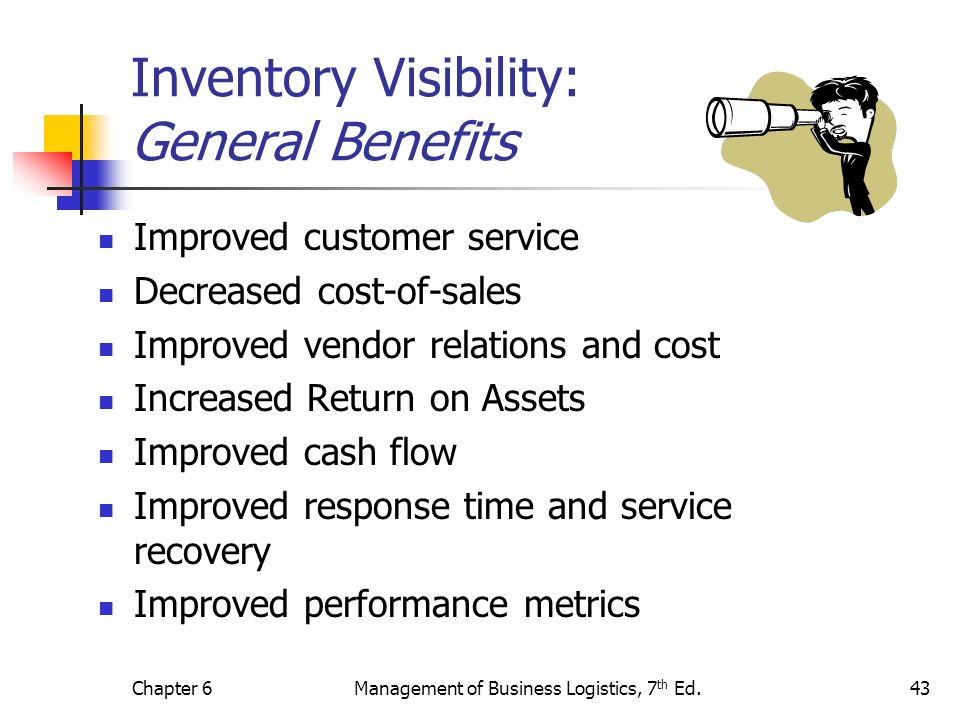 Inventory Visibility: General Benefits