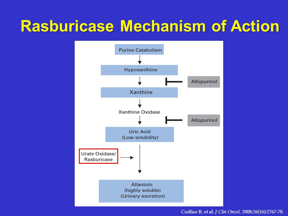 Rasburicase Mechanism of Action