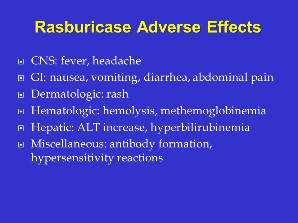 Rasburicase Adverse Effects