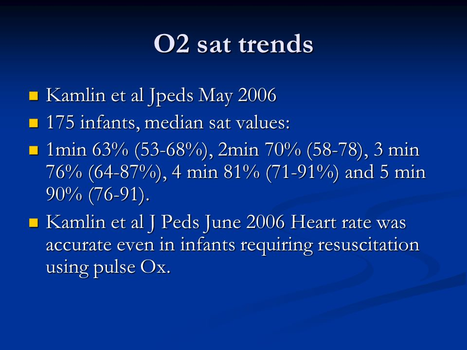 O2 sat trends Kamlin et al Jpeds May 2006