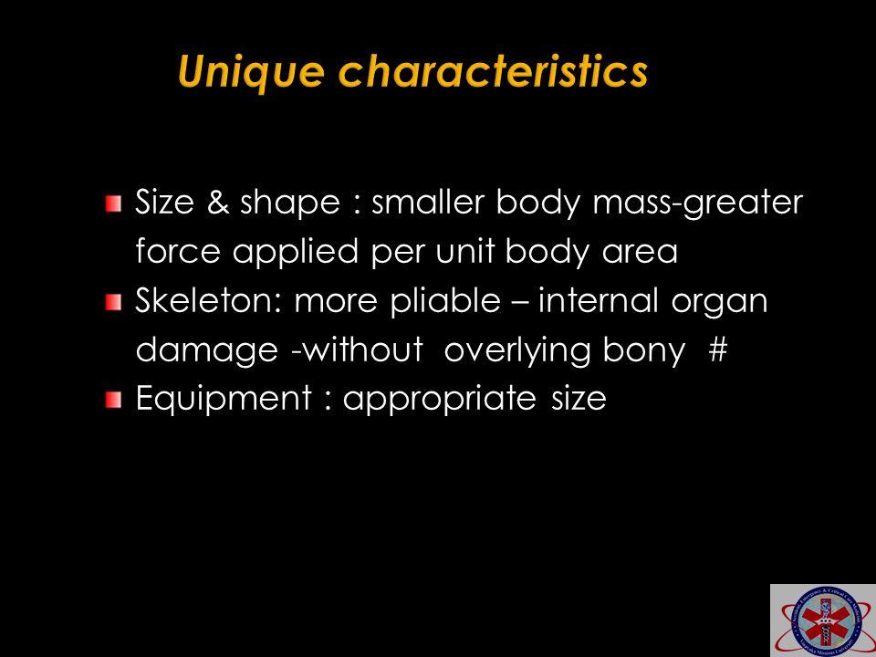 Unique characteristics
