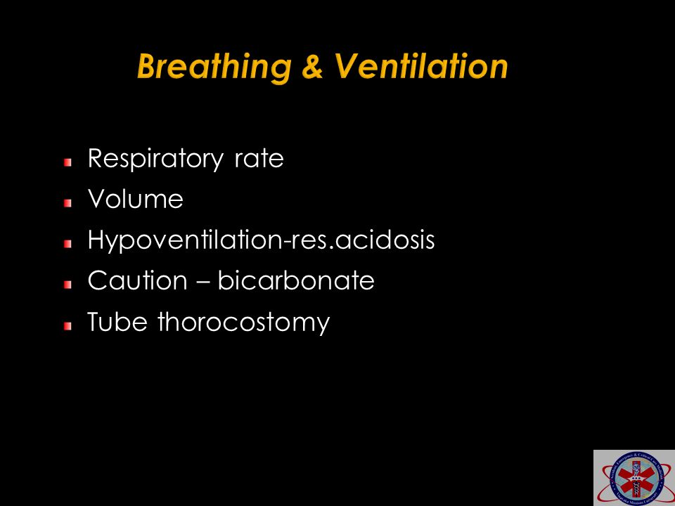 Breathing & Ventilation
