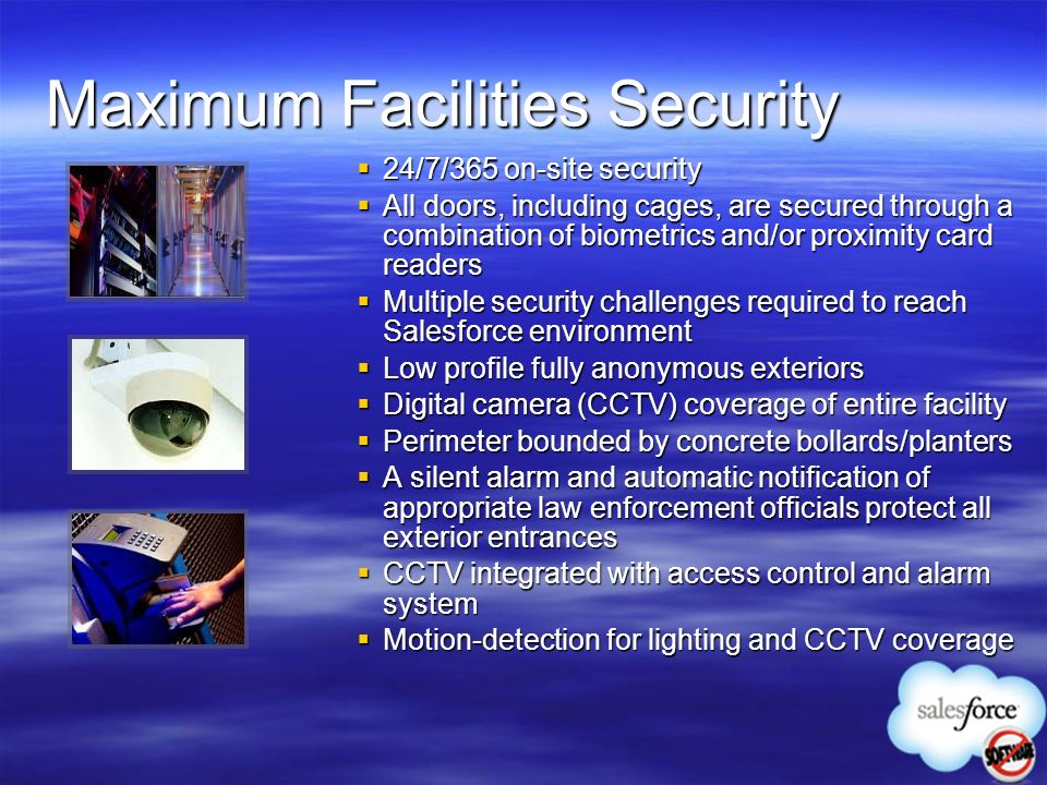 Maximum Facilities Security