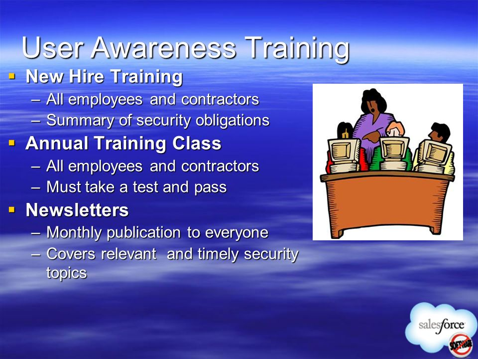 User Awareness Training