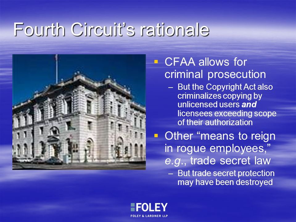 Fourth Circuit's rationale