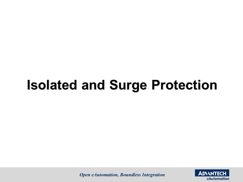 Isolated and Surge Protection