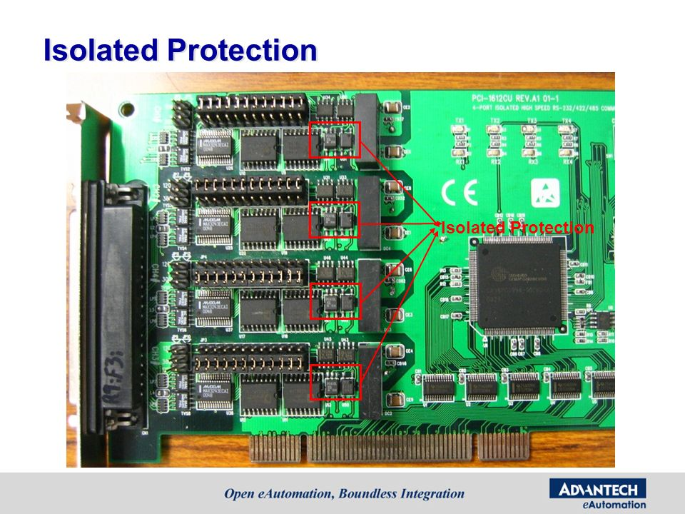 Isolated Protection Isolated Protection