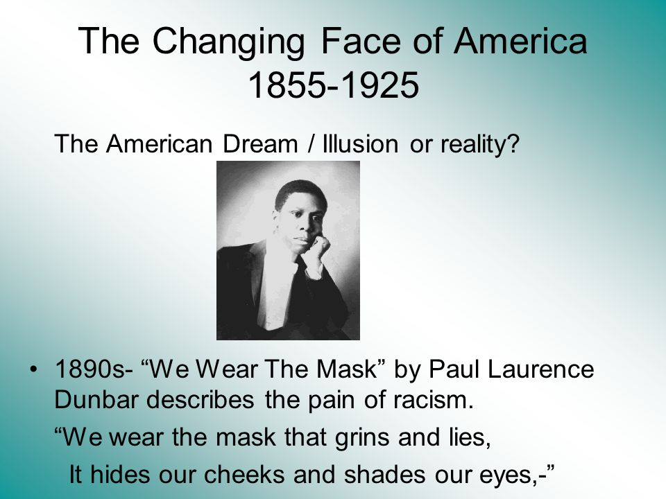 The Changing Face of America 1855-1925