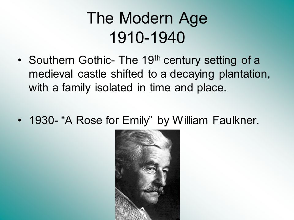 The Modern Age 1910-1940