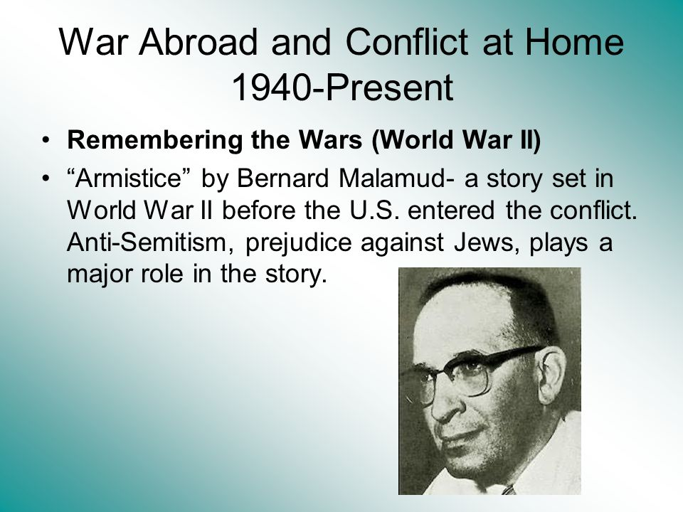 War Abroad and Conflict at Home 1940-Present