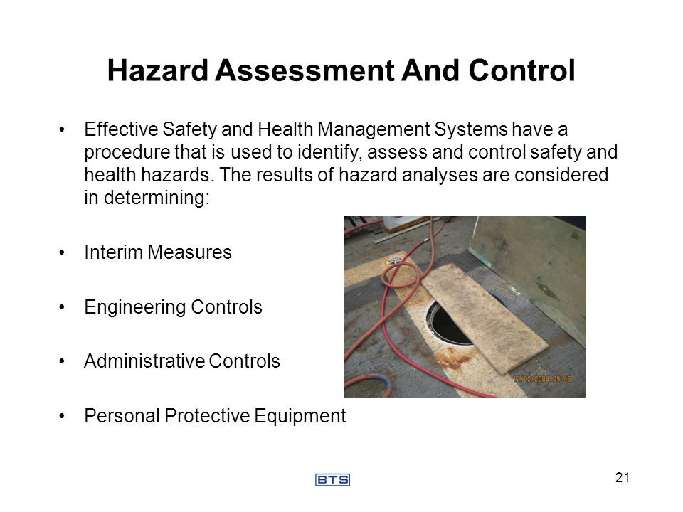Hazard Assessment And Control