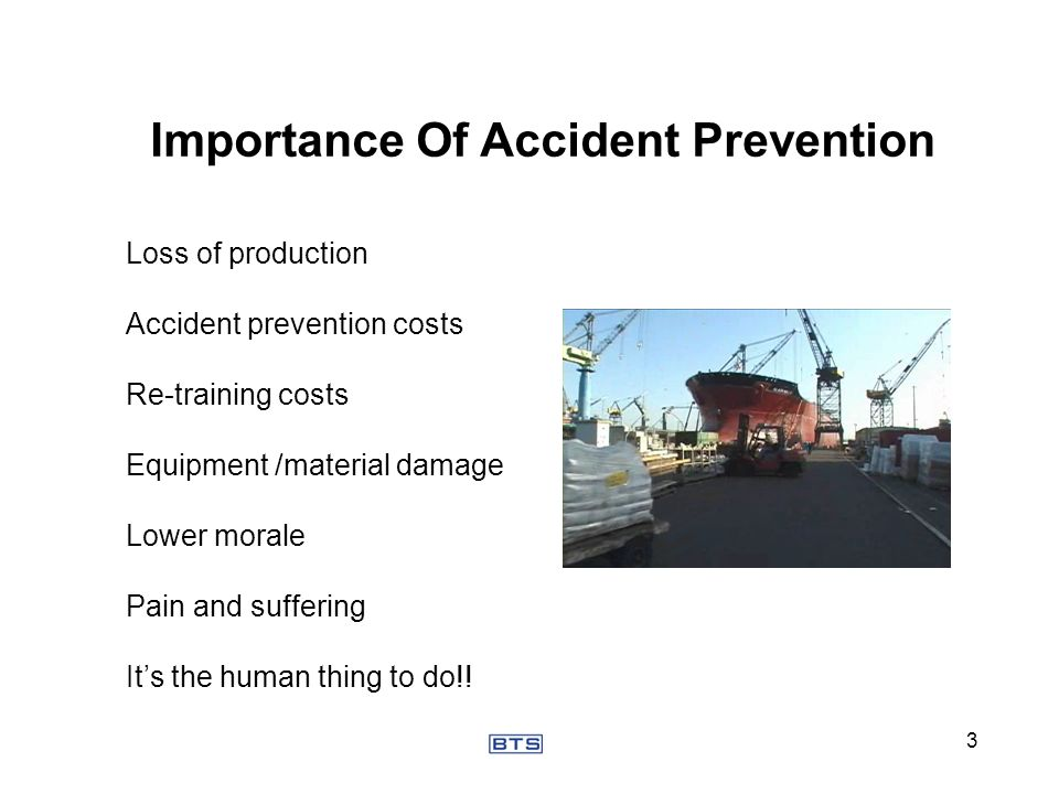 Importance Of Accident Prevention