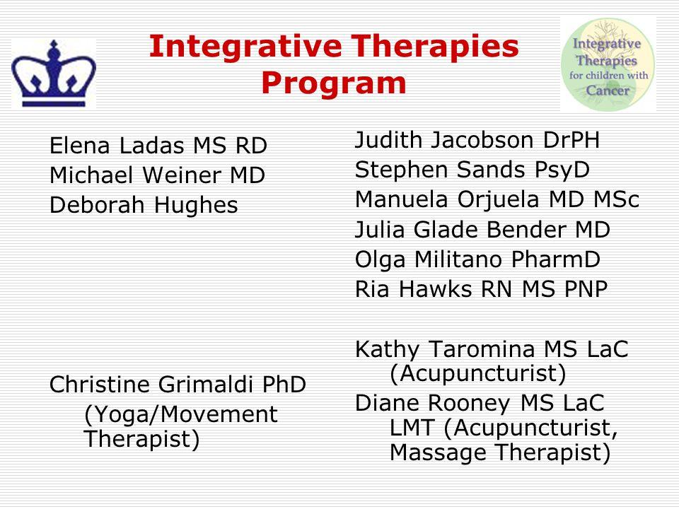 Integrative Therapies Program