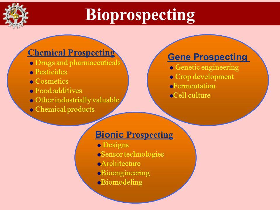 Bioprospecting Chemical Prospecting Gene Prospecting