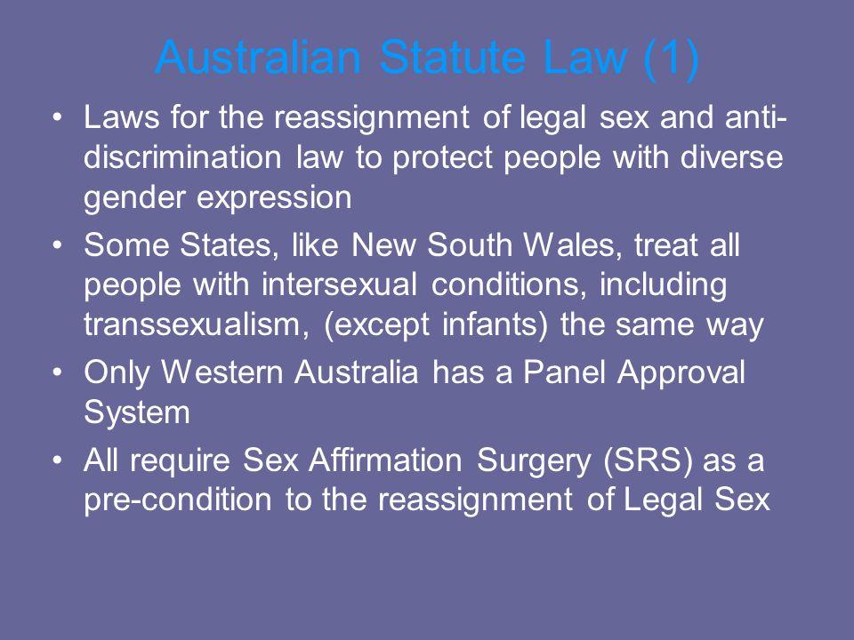 Australian Statute Law (1)