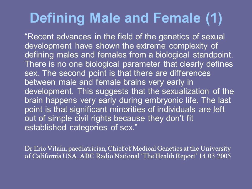 Defining Male and Female (1)
