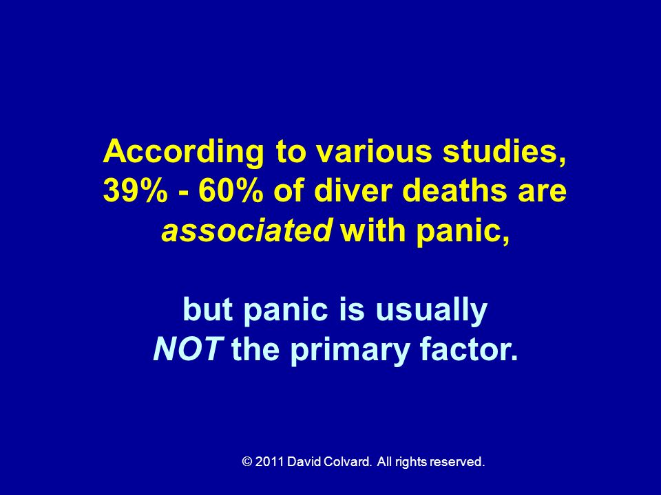According to various studies,