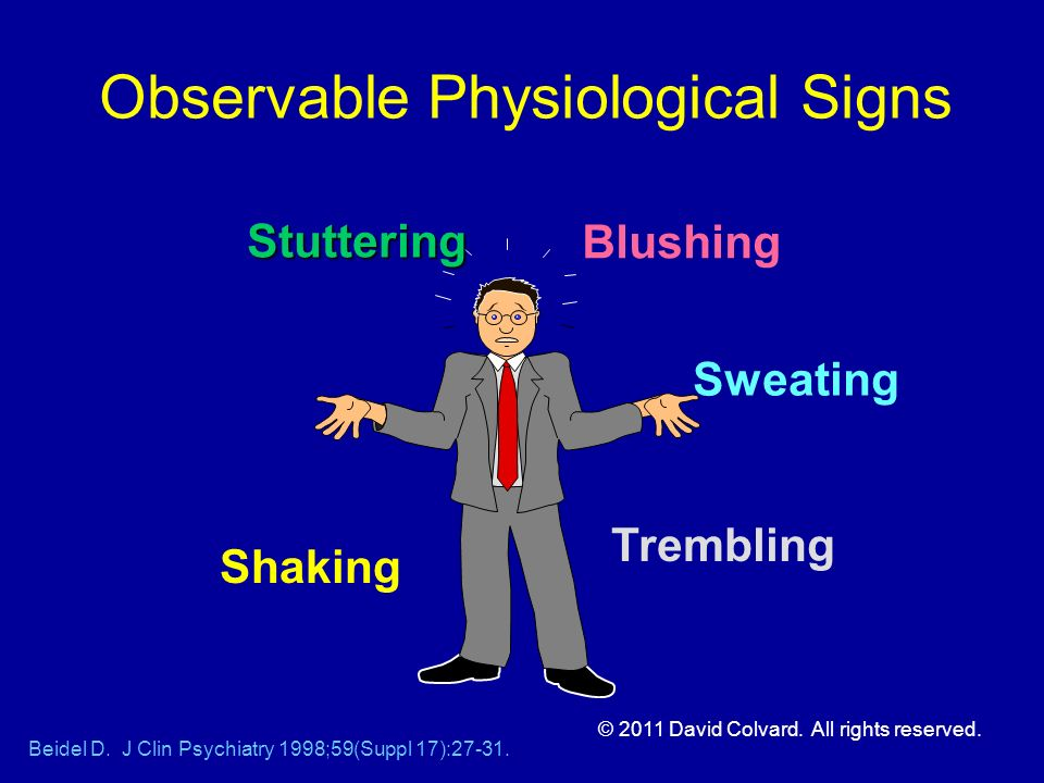 Observable Physiological Signs