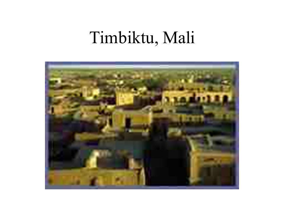 Timbiktu, Mali