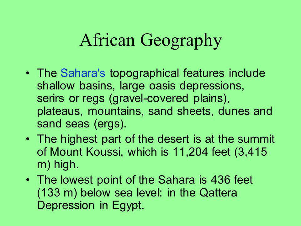 African Geography