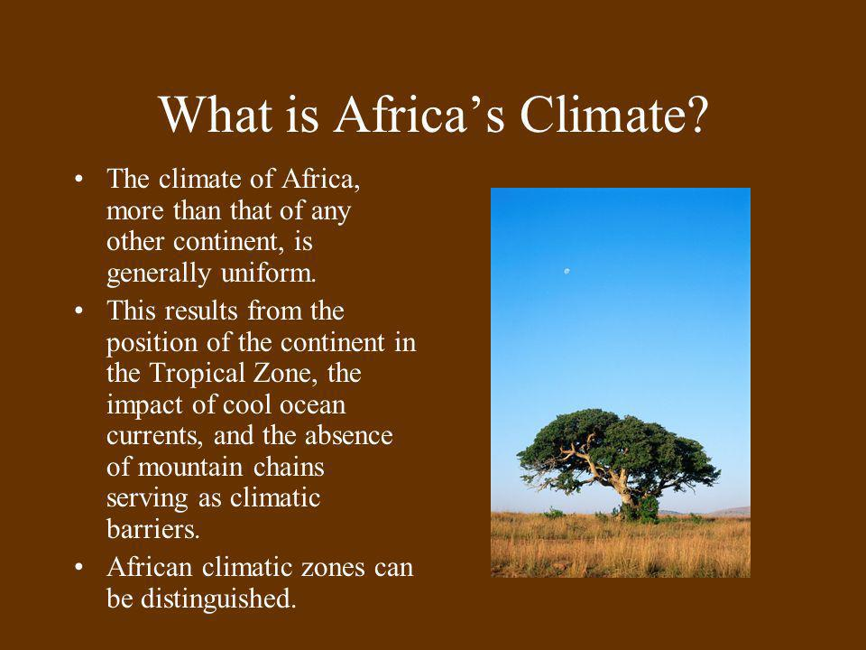What is Africa's Climate