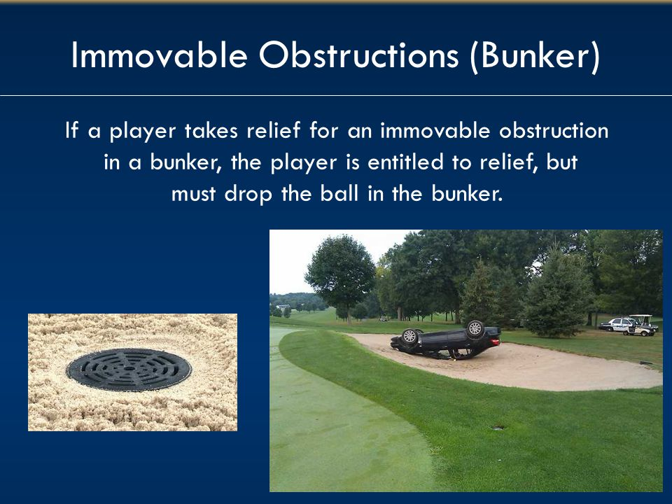 Immovable Obstructions (Bunker)
