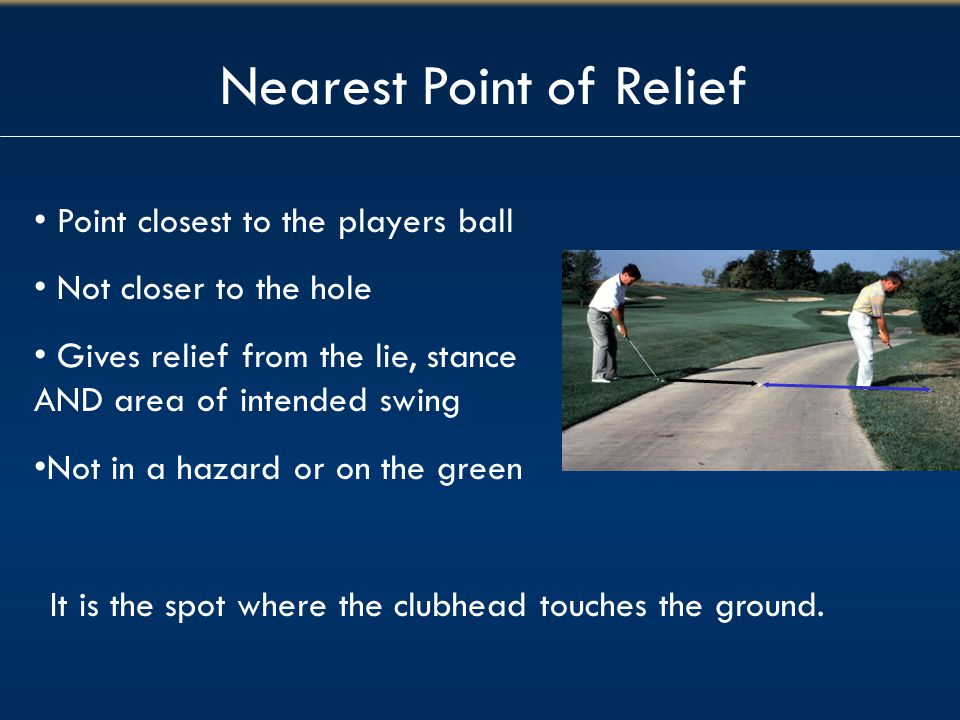 Nearest Point of Relief