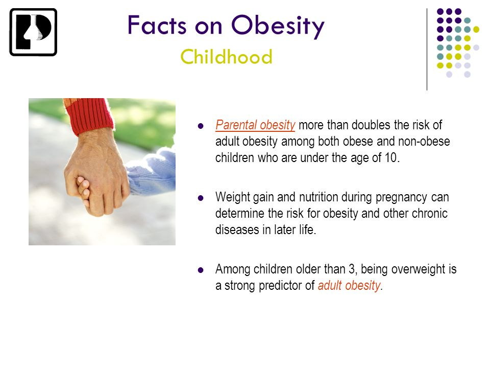 Facts on Obesity Childhood