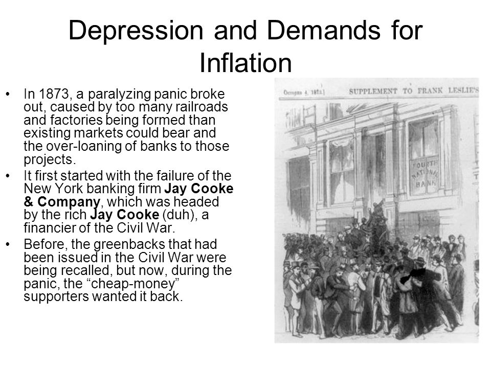 Depression and Demands for Inflation