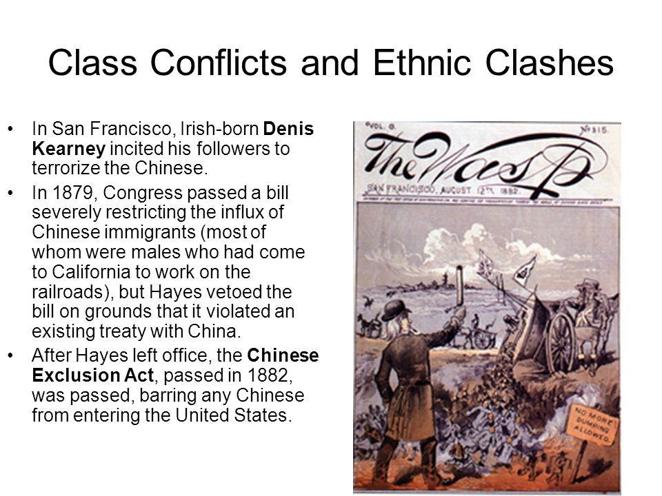 Class Conflicts and Ethnic Clashes